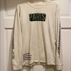 Mighty fine- Long sleeved Paris tee